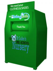 recycled clothing banks